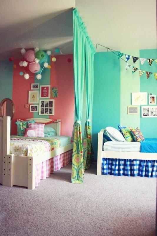 childrens bedroom ideas boy and girl sharing | المرسال