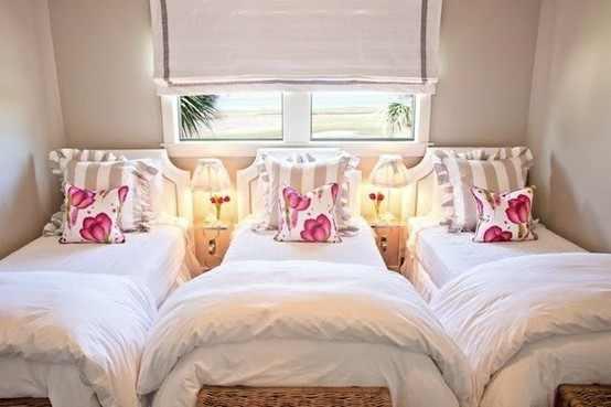 تصاميم غرف نوم ثلاث بنات | المرسال