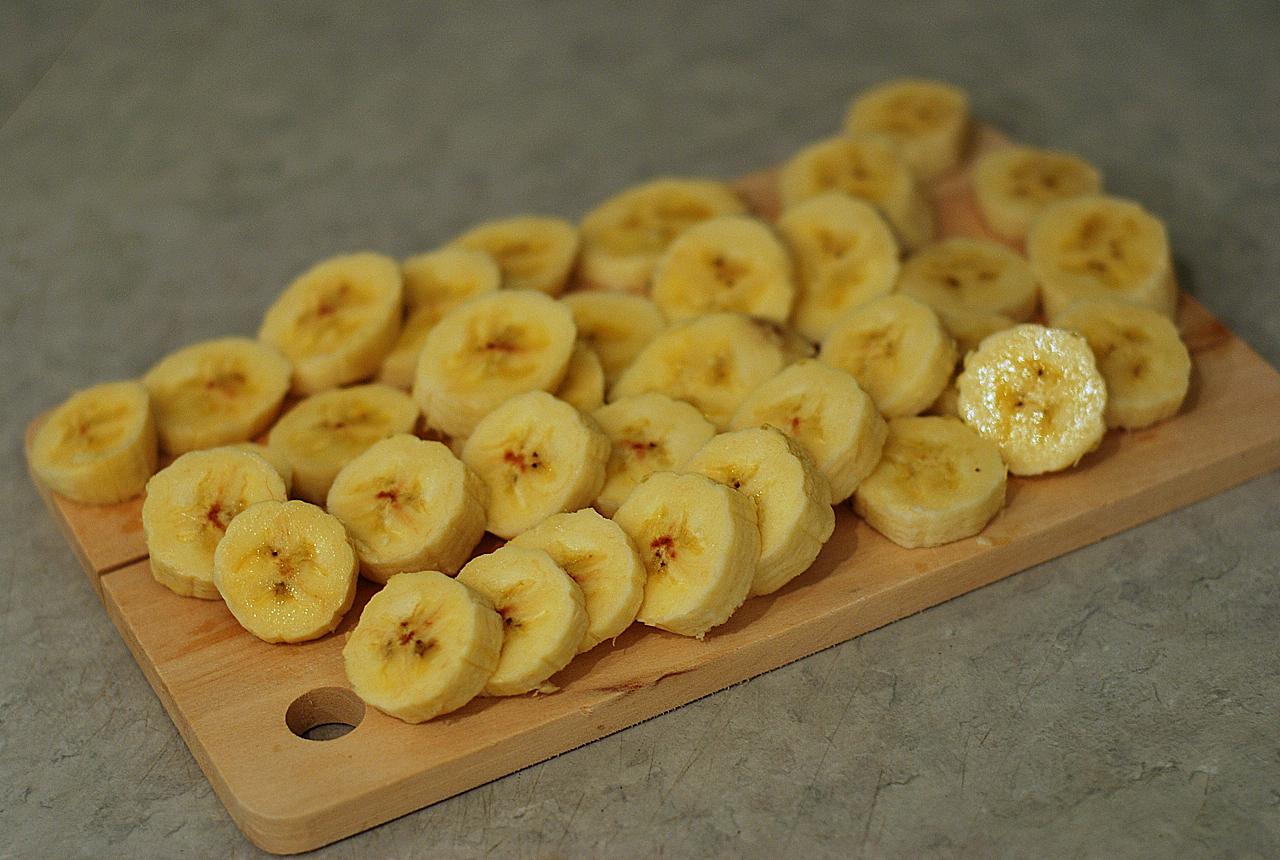 تقطيع الموز الهندي