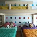 تصاميم غرف نوم ثلاث بنات