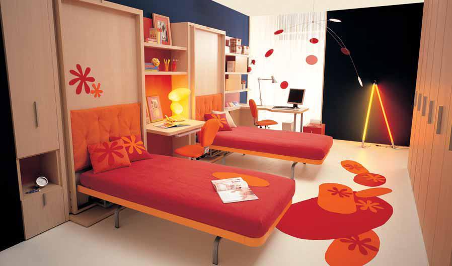 تصميمات غرف نوم اطفال صغيرة | المرسال