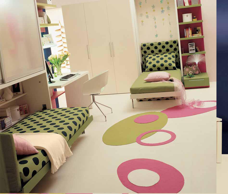 Room For Two Shared Bedroom Ideas: تصميمات غرف نوم اطفال صغيرة