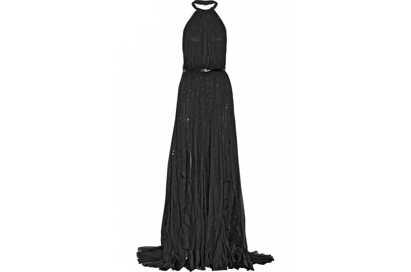 مختارات من أحدث موديلات فساتين السهرة 2015 Black-dress-Donna-Ka