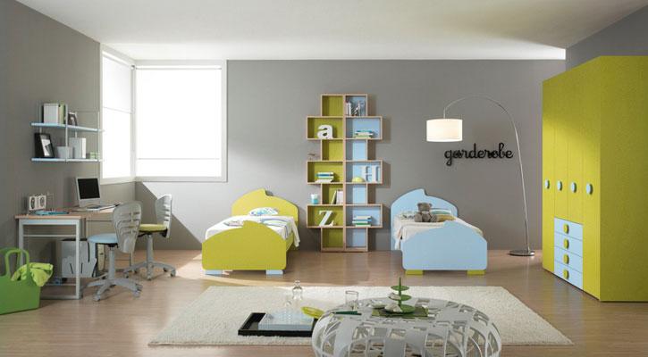 تصاميم غرف نوم نفرين رائعة | المرسال