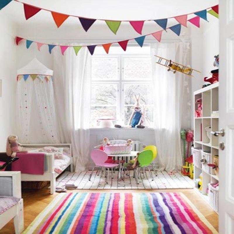 Colorful Kids Rooms: تزيين غرف نوم اطفال بالالوان