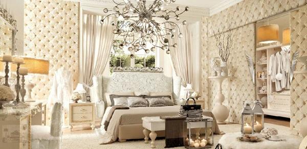 Elegant French Inspired Bedroom Design