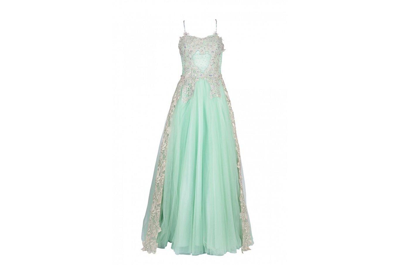 مختارات من أحدث موديلات فساتين السهرة 2015 Emerald-dress-Studio