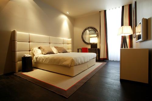 اضاءت غرف نوم فنادق رائعة | المرسال