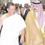 الملك الأردني مع الأمير مشعل - 182201