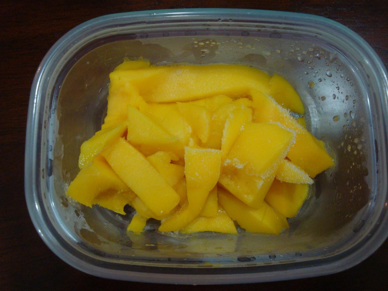 الفراولة المثلجة