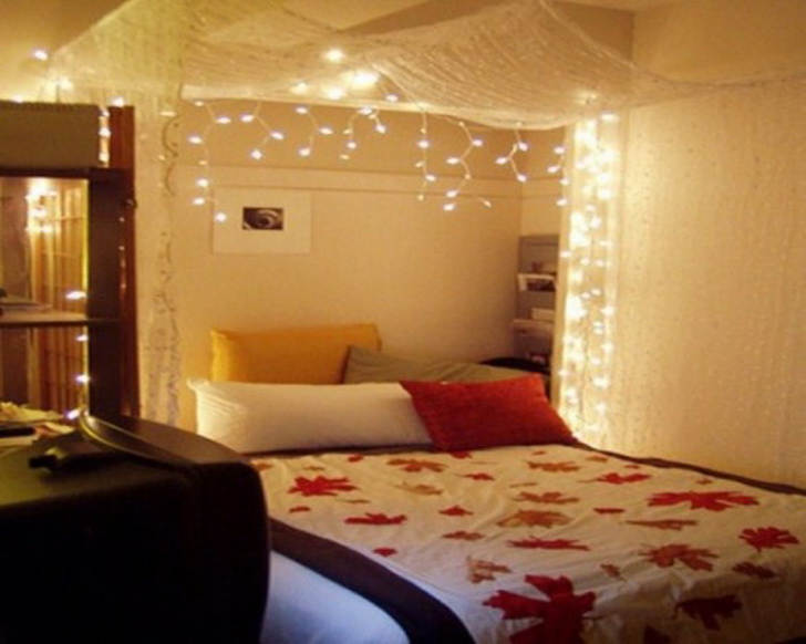 غرف نوم رومانسة للمتزوجين   المرسال