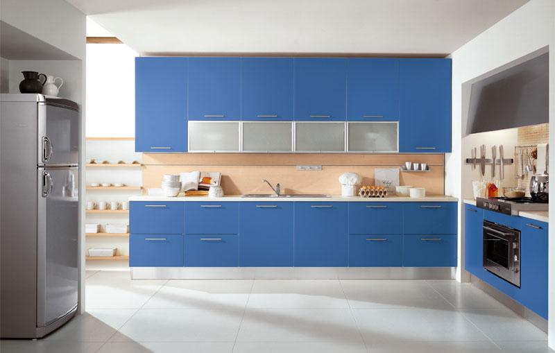 modern blue kitchen design & modern blue kitchen design | المرسال