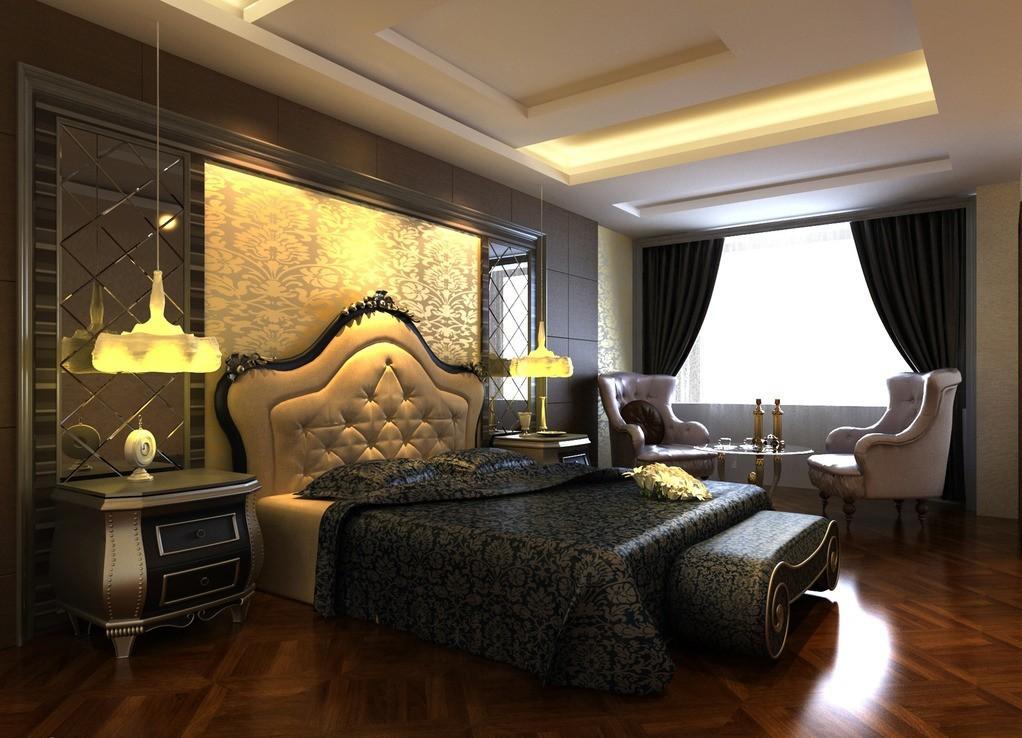 اجمل موديلات غرف نوم فلل | المرسال