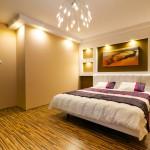 اضاءات رائعة بغرف النوم الانيقة