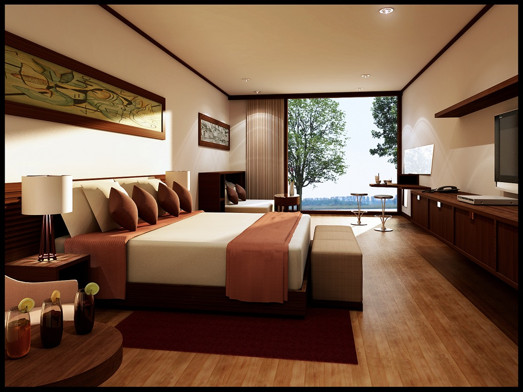 اجمل تصاميم غرف نوم فنادق | المرسال