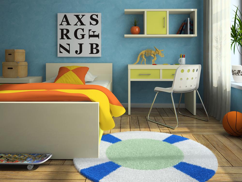 ارضيات باركية بيج بغرف نوم الاطفال | المرسال