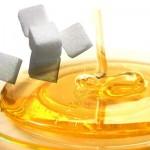 العسل و السكر