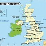 خريطة المملكة المتحدة - 183474