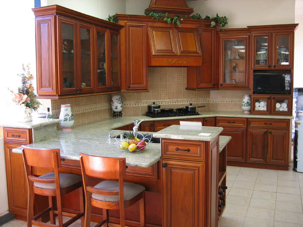 how to clean wooden kitchen cupboards المرسال