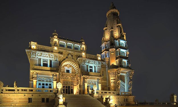 The palace of the Baron is shining Palace of Baron architectural masterpiece Palace of Baron architectural masterpiece  D9 82 D8 B5 D8 B1  D8 A7 D9 84 D8 A8 D8 A7 D8 B1 D9 88 D9 86  D9 85 D8 B6 D9 8A D8 A1