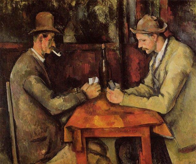 لوحة لاعبو الورق The Card Players