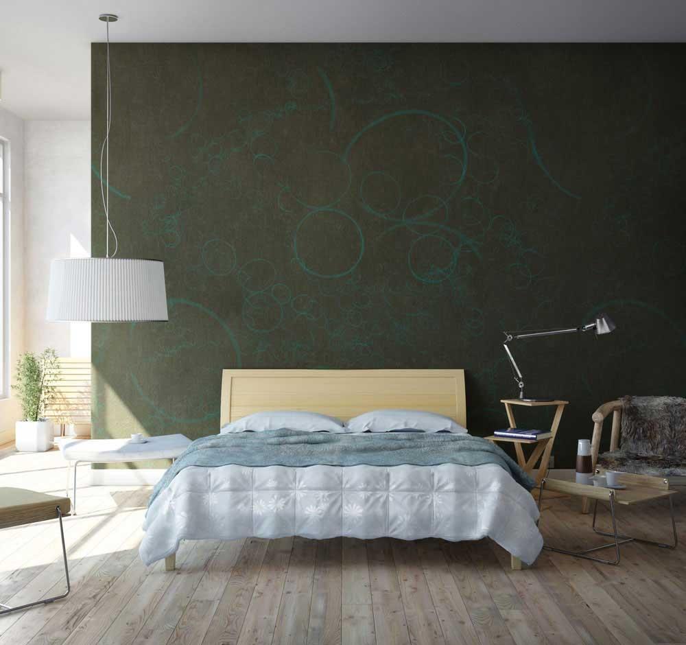 modern bedroom walls