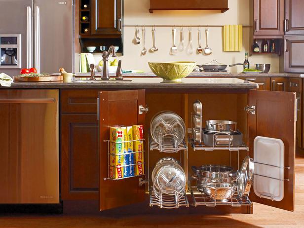 تقسيمات داخلية لخزائن المطبخ | المرسال