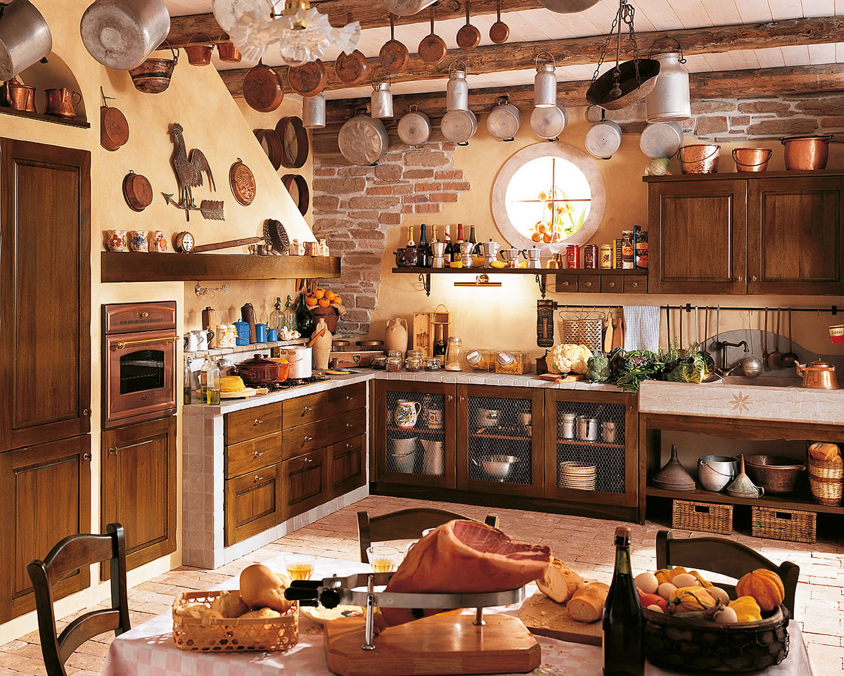 Rustic Kitchen Designs المرسال