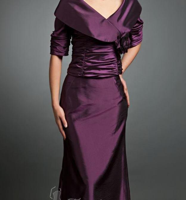فساتين ايلي صعب 2015 Dark-Purple-Dress1.j