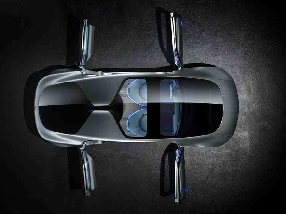 Doors Mercedes F 015 Luxury in Motion