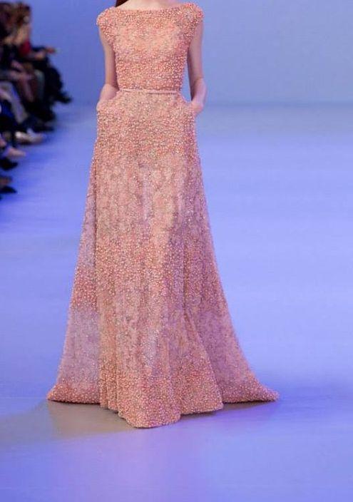 فساتين ايلي صعب 2015 Dotted-Dress1.jpg