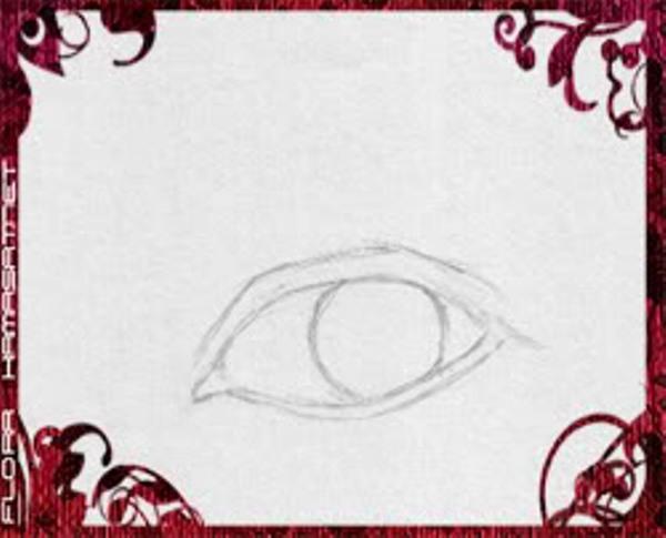 اسهل طريقة لرسم العين بالرصاص المرسال