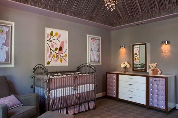 اضاءة وبراويز ديكور غرفة البيبي المميزة