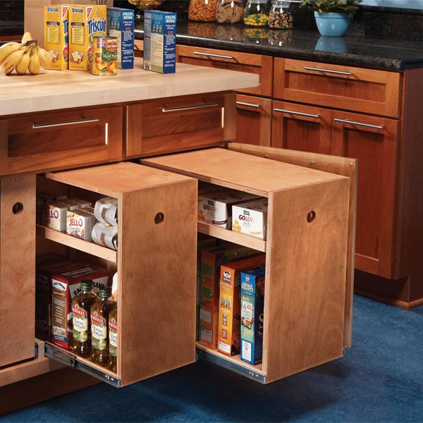Storage Ideas For Deep Kitchen Drawers: افكار لخزائن المطبخ