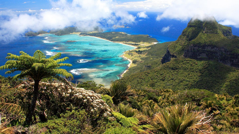 جزيرة لورد هاو في بحر تسمان بين أستراليا ونيوزيلندا   المرسال