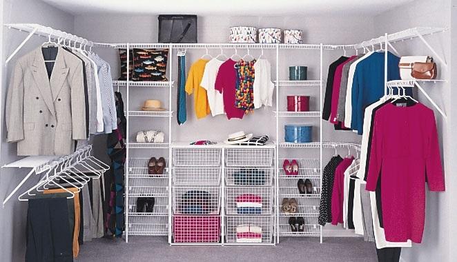 اجمل تصاميم خزانات الملابس