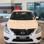 The back of the Nissan Sunny 2015 | المرسال