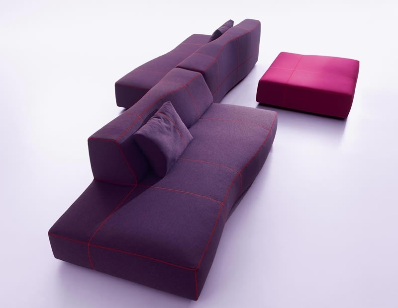 ideas for purple sofas