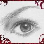 اسهل طريقة لرسم العين بالرصاص