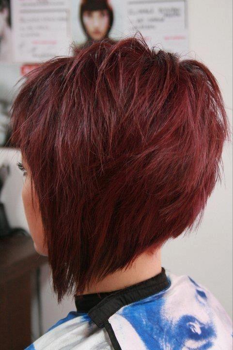 للشعر القصير ombre bob hair cut wavy for short hair