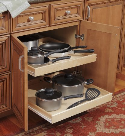 افكار لخزائن المطبخ المرسال