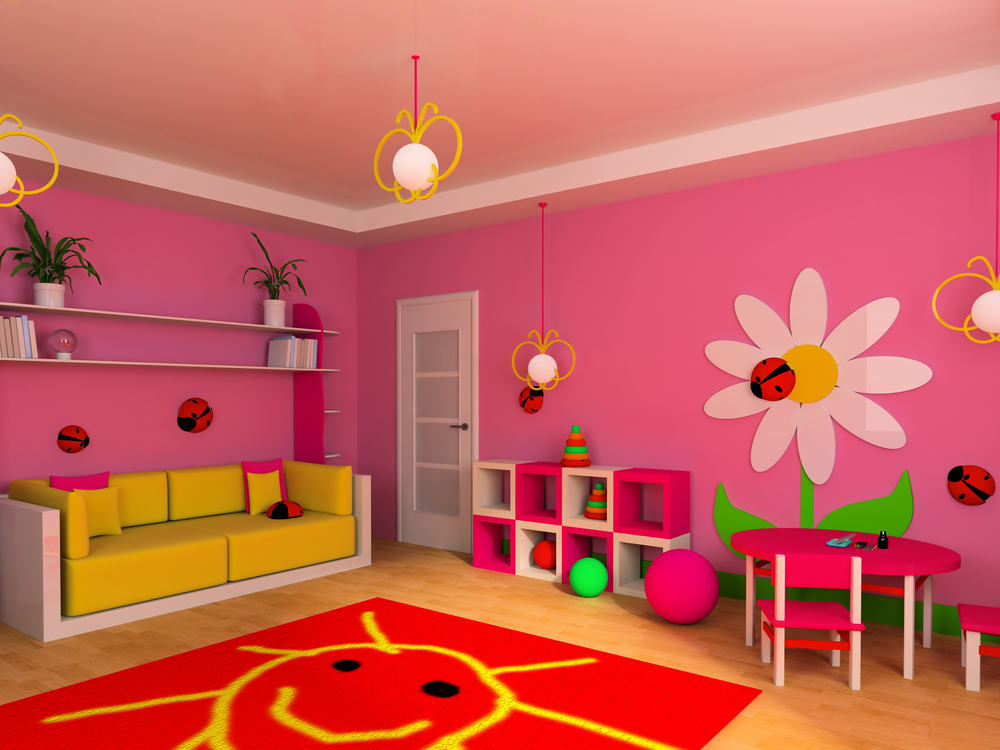 rooms pink
