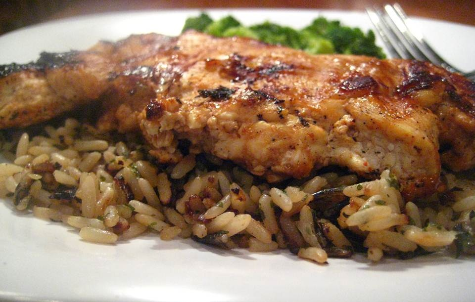 تقديم دجاج ورز شواية الخليج