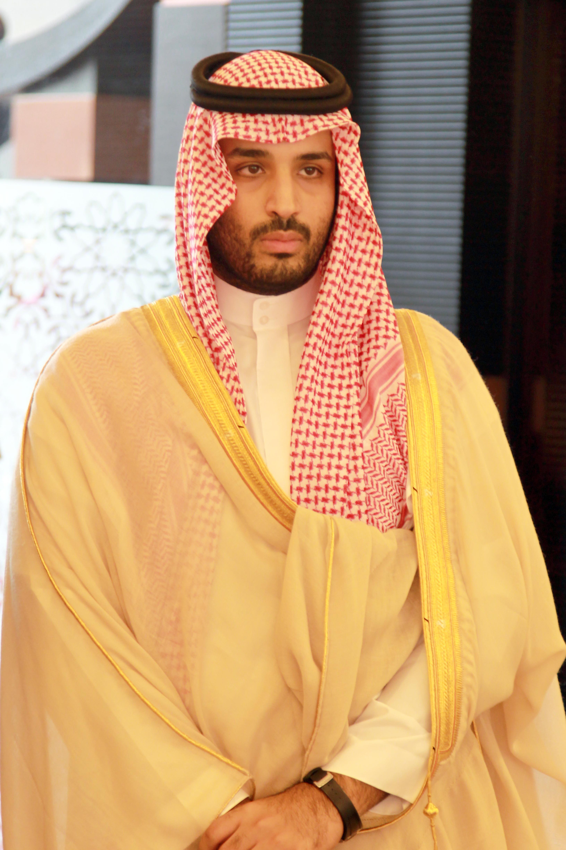 ... الامير محمد بن سلمان بن عبدالعزيز ال سعود وزير الدفاع ورئيس الديوان الملكي