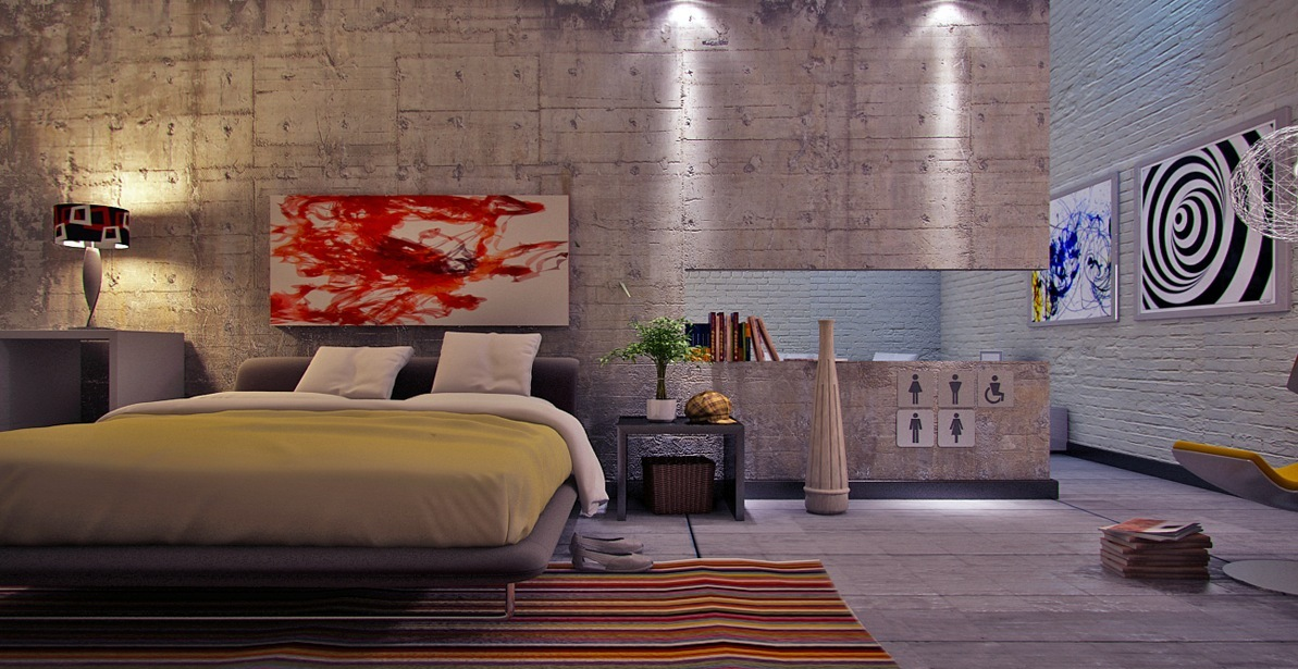 ديكورات حوائط غرف نوم مبهرة