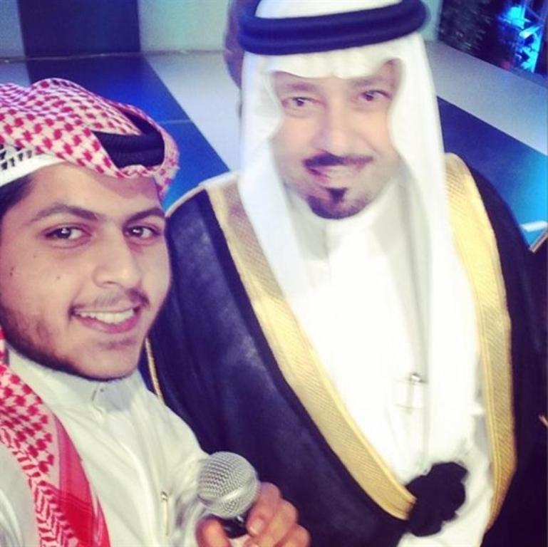 سيلفي للامير مشعل بن عبدالله امير منطقة مكة .