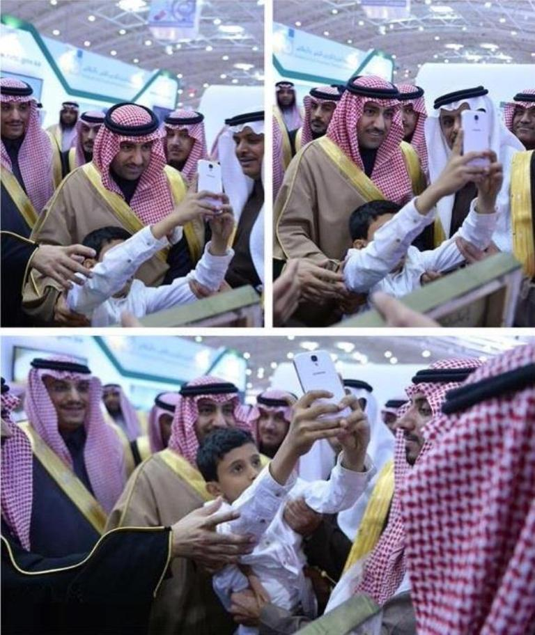 سيلفي للامير تركي بن عبدالله
