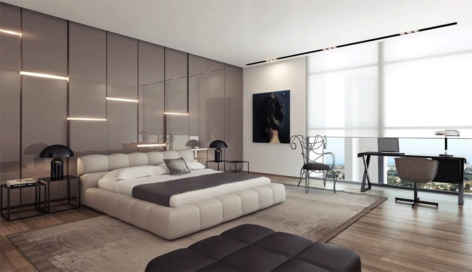 اروع جدران لغرف النوم