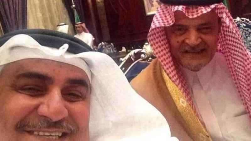 سيلفي للامير سعود الفيصل والشيخ خالد ال خليفة