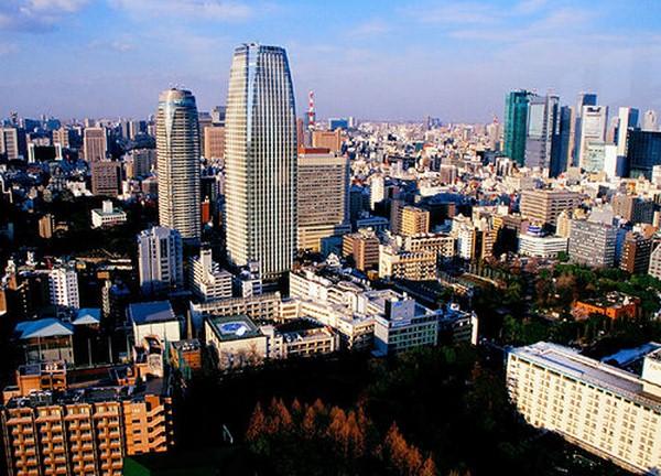 فن العمارة في طوكيو